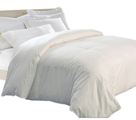 Kathy Ireland Home King Unbleached Down/FeatherComforter