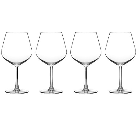 Cuisinart Classic Essentials Burgundy Glasses -Set of 4