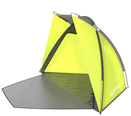 Wakeman Mid-Sized Green Beach Tent