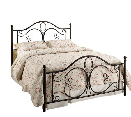 Hillsdale House Milwaukee Full Bed - Antiqued Brown Finish