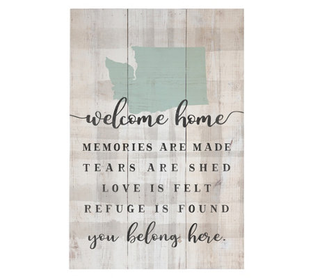 Welcome Home Pallet Wall Art