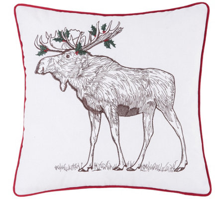 Holly Moose Pillow By C F Home