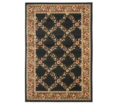 "Lyndhurst Open Floral Power Loomed 3'3"" x 5'3""Rug"