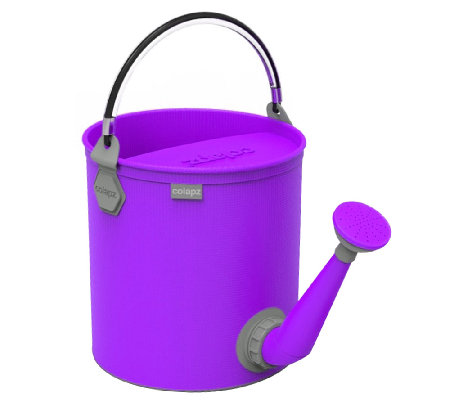 ColourWave Collapsible 2.6-Gallon 2-in-1 Watering Can / Bucke