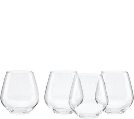 Lenox Tuscany Classics Set of 4 Red Tumblers