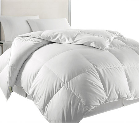 Kathy Ireland Home Twin White Goose Feather & Down Comforter