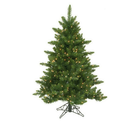 12' Camdon Prelit Fir Tree by Vickerman