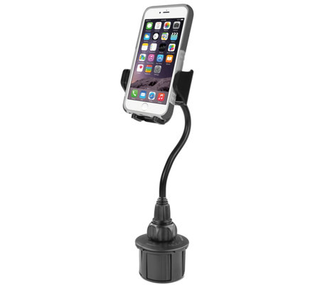 "8"" Adjustable Automobile Cup Holder Mount for Smartphones"