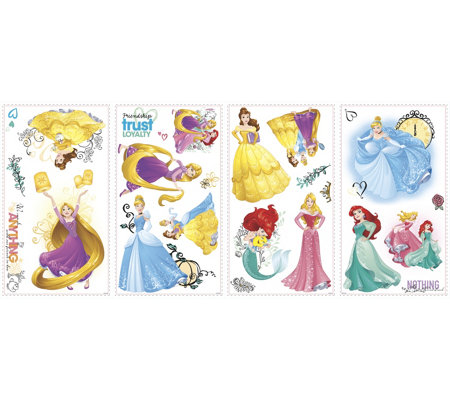 RoomMates Disney Princess Friendship Peel & Stick Wall Decals
