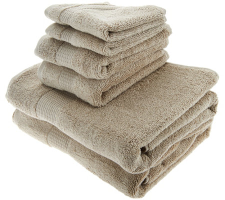 Northern Nights 100% Micro Cotton 6-piece Towel Set