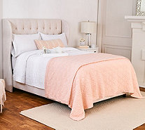 Stay by Stacy Garcia Signature Puffy Knit Link King Blanket - H217145