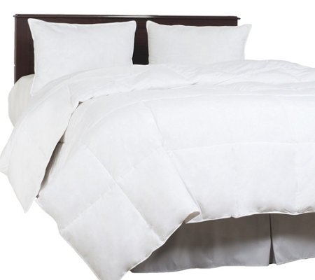 Lavish Home Down Blend Overfilled Twin Comforter