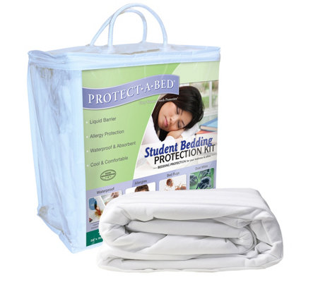 Protect-A-Bed Student Bedding Protection Kit
