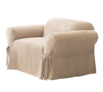 Sure Fit Soft Suede Box-Cushion Chair Slipcover - H142446 6c5acfb985