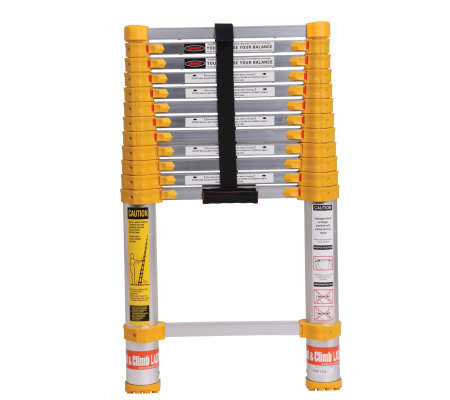 Xtend+Climb 12-1/2'H Telescoping Ladder