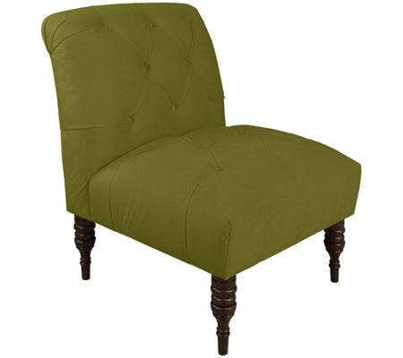 Skyline Furniture Tufted Velvet Chair