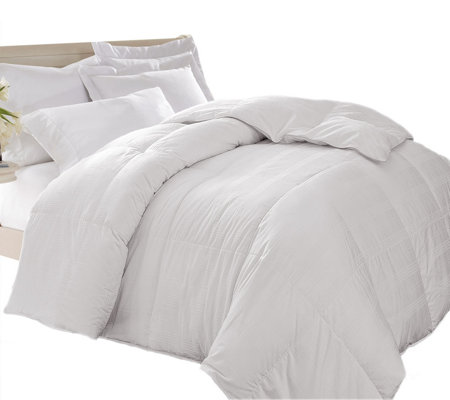 Blue Ridge Windowpane 600TC Down Alternative Twin Comforter