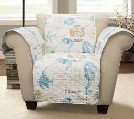 Harbor Life Single Arm Chair Furniture Protector by Lush Decor