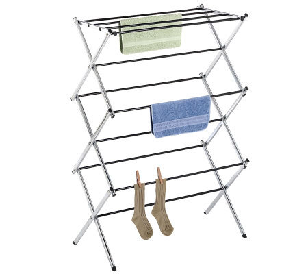 Whitmor Chrome Folding Drying Rack