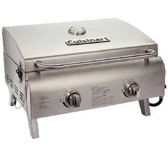 Cuisinart Chefu0027s Style Tabletop Gas Grill   H283347