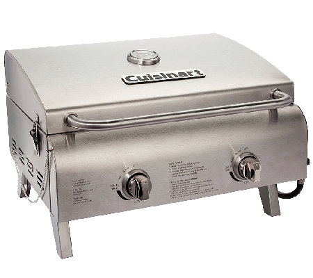Cuisinart Chef S Style Tabletop Gas Grill Page 1 Qvc Com