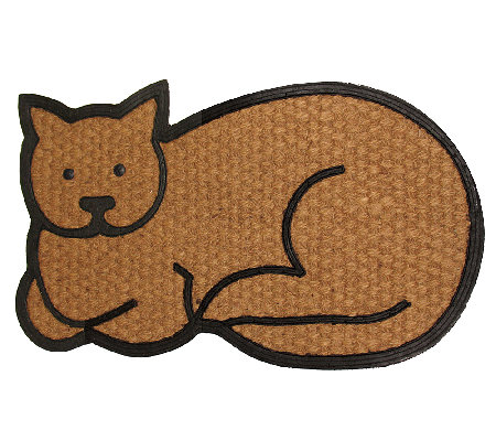 Geo Crafts Flat Weave Tuffcor Cat Door Mat