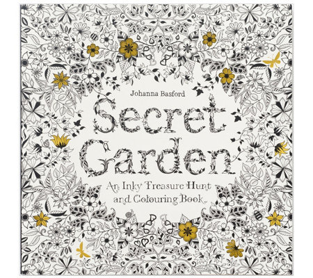 Chronicle Books Secret Garden Adult ColoringBook