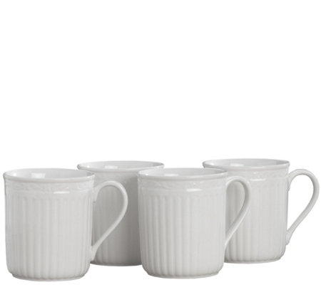 Mikasa Italian Countryside Set of Four Mugs