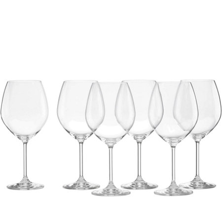 Lenox Tuscany Classics Set of 6 Red Wine Glasses