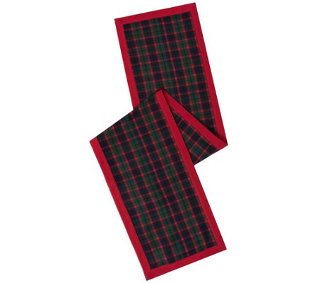 "14"" x 90"" Highlands Table Runner by Vickerman"