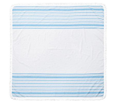 Arlo Turkish Square Beach Towel
