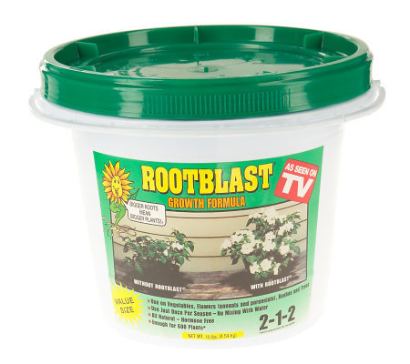 Rootblast Once-a-Season Growth Formula, 10-lb Bucket