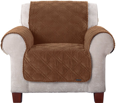 Sure Fit Corduroy Chair Furniture Cover