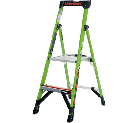 Little Giant MightyLite Series Model 4 Fiberglass Step Ladder