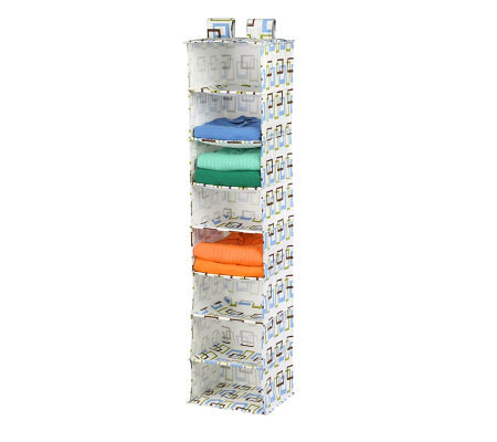 Honey-Can-Do 8-Shelf Hanging Organizer - Multicolor