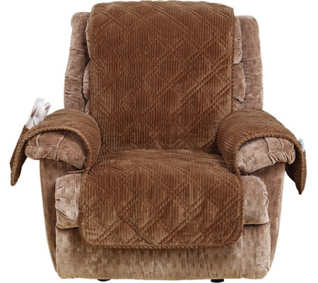 Sure Fit Corduroy Recliner Furniture Cover