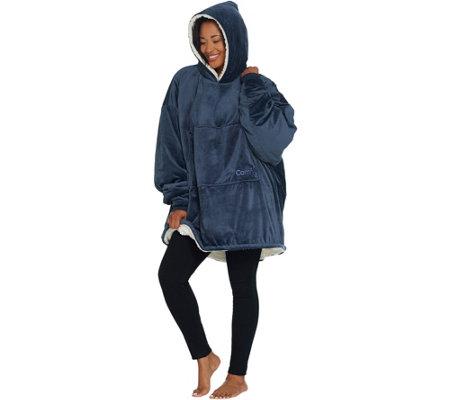 The Comfy Oversized Blanket Sweatshirt Sweatshirt - Page 1 — QVC.com ac41cb3d501d