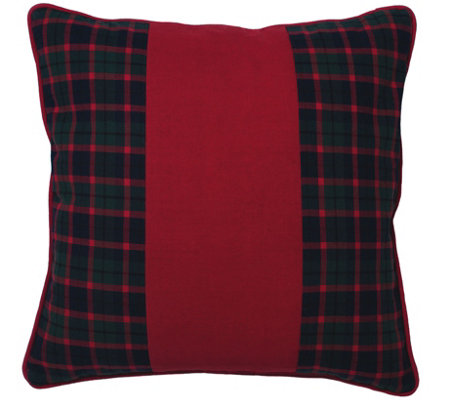 "18"" x 18"" Highlands Collection Pillow by Vickerman"