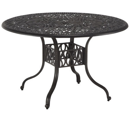 "Home Styles Floral Blossom 48"" Round Dining Table"