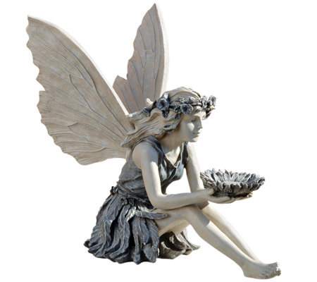 Design Toscano Charming Sunflower Fairy GardenStatue