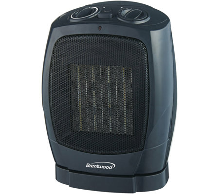 Brentwood Oscillating Ceramic Heater