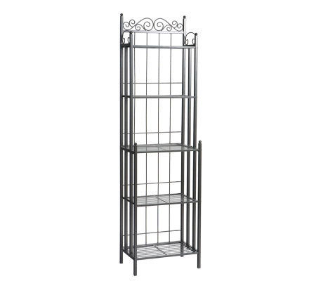 Elaine Black Iron Baker S Rack