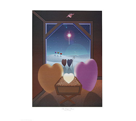 The Perfect Heart Nativity by Artist of Hope Steven Lavaggi
