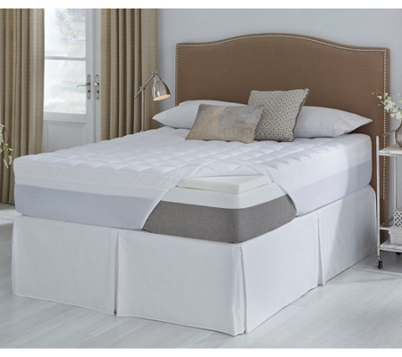 Comforpedic From Beautyrest 3 5 Memory Foam Topper Twin