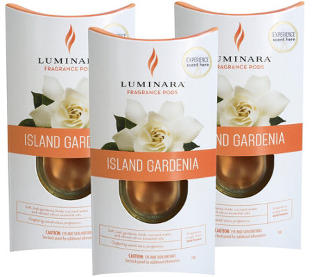 Luminara Set of 3 Fragrance Cartridges