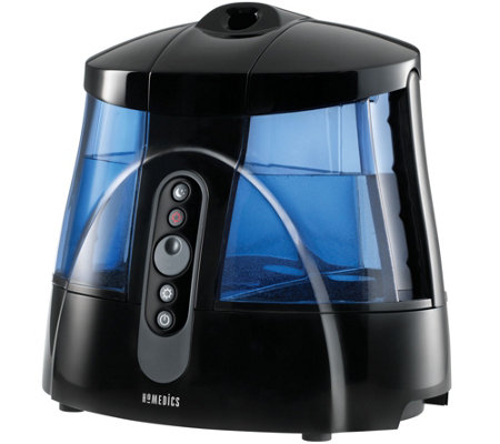 HoMedics Warm and Cool Mist Dual Tank Ultrasonic Humidifier