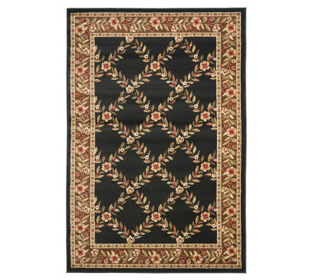 Lyndhurst Open Floral Power Loomed 8 X 11 Rug