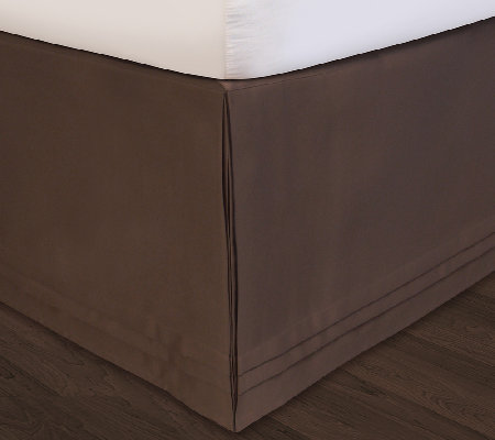 Veratex Hike-Up-Your-Skirt Easy-On Adustable King Bedskirt