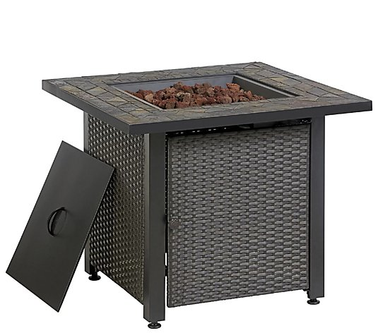 Blue Rhino LP Propane Steel Fire Pit Table