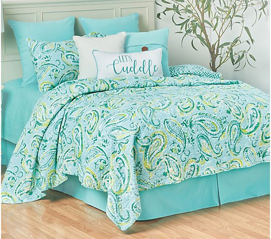 Jade King Quilt Set by Valerie